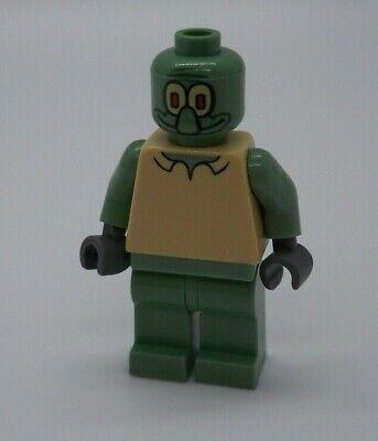 Squidward LEGO SpongeBob SquarePants 3827 3825 Tan LEGO SpongeBob Minifigure