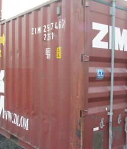 Used 20' Sea Container