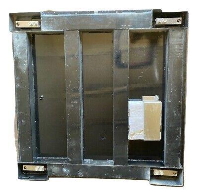 Optima Heavy Duty Industrial Floor Scale 10000 Lbs X 1 Lb Lcd Display Pallet