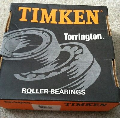 New Rare Timken Deep Groove Radial Roller Ball Bearing Model 322w