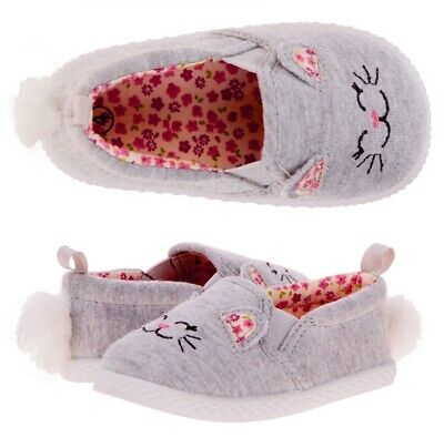 Gray Cat Ears And Tail (New Cute Kitty Kitten Cat Gray Shoes With Tail and Ears Baby Infant Toddler)