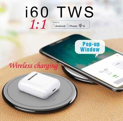 i60 TWS Kopfhörer Bluetooth 5.0 Kabellos Headset Ohrhörer für iPhone