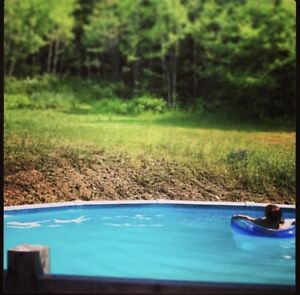 27' above ground pool