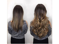 £150 RUSSIAN KERATIN MICRO NANO MOBILE HAIR EXTENSIONS DOUBLE DRAWN LA WEAVE