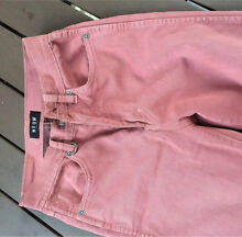 Neuw denim skinny leg jeans Marilyn size 24 6 dusty pink Lane Cove North Lane Cove Area Preview