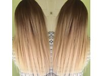 Pre bonded real Russian hair extensions