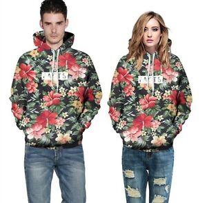 Mens/ Womens floral hoodie