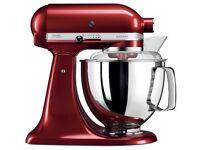 KitchenAid Artisan stand mixer red