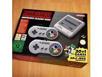 Super Nintendo SNES CLASSIC MINI ** New & Sealed **
