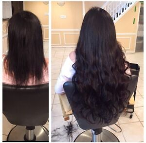 Hair extensions services in mississauga peel region kijiji tape in and fusion full head hair extensions pmusecretfo Gallery