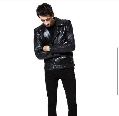 BLK DNM Mens Leather Jacket