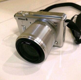 Nikon Camera AW1 DSLR Waterprood