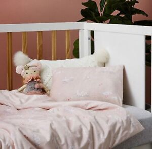 Brand new Adairs Kids VELOUR DUCKLING Cot quilt cover set RRP $100