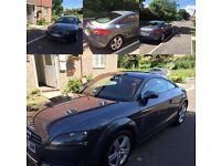Audi TT Coupe, 2L, Red leather interior, good condition