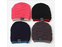 New Arrival Woman Bluetooth Beanie/Skull Cap Knitted Winter Hand-free Music Hat