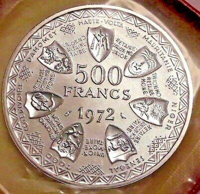 ==>> 500 Francs Banque centrale des Etats de l'Afrique de l'Ouest KM# 7 FDC <<==