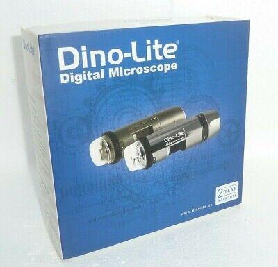 New Dino-lite Am4112nt Digital Microscope Wstand - Rca Output - 10x220x 60fps