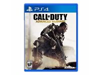 Call Of Duty Advanced Warfare PS4 Playstation 4 Game