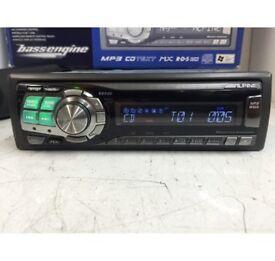 ALPINE CDA-9830R CD MP3 PLAYER
