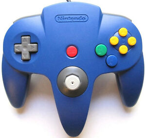 Looking for official N64 wii gamecube controllers ANY COLOR
