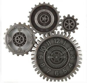 Really Cool Moving Gear Wall Clock, Brand New!