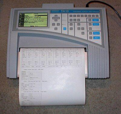 Portable Gould Strip Chart Recorder Data Acquisition Oscillograph Ta-10 Ta10