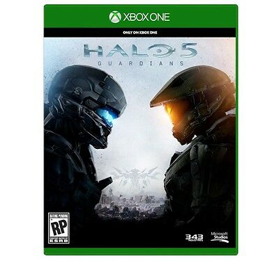Halo 5: Guardians (Microsoft Xbox One, 2015) BRAND NEW SEALED FREE SHIPPING
