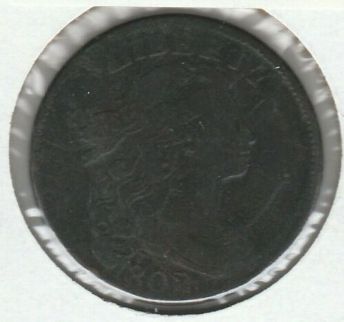 1802 Very Good VG Draped Bust US Large Cent 1C