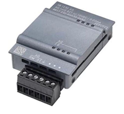 New In Box SIEMENS 6ES7 232-4HA30-0XB0 S7-1200 Analog Output Module - $85.00