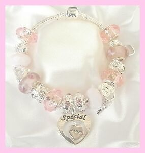 GIRLS/ MOTHERS DAY/BIRTHDAY CHARM BRACELETS 21ST/18TH/16TH/13TH/30TH/40TH/50TH