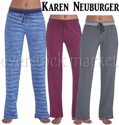 NEW WOMENS LIVE LOVE LOUNGE KAREN NEUBURGER LOUNGE PANT NEW COLORS VARIETY!