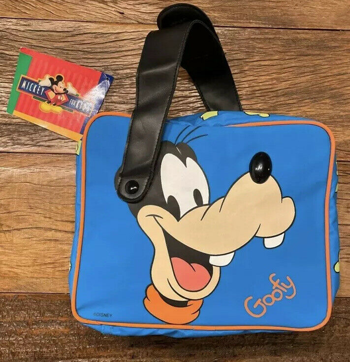 90s Vintage Thermos Goofy Insulated Lunch Bag, Tote