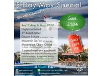 UAE Holiday 4 star hotel and activities great offer