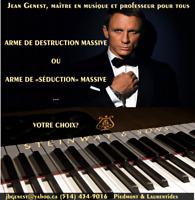 Pianiste pour réception, fête ou funérailles