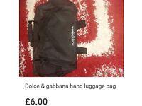 Dolce & gabbanna hand luggage bag
