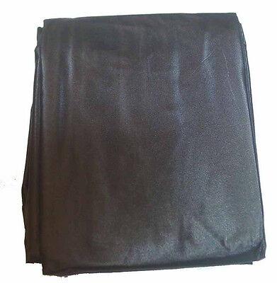 Air Hockey Pool Tables - Black Vinyl Drape Cover For 7 or 8 Foot Air Hockey Or Pool Tables