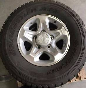 79 series toyota Land Cruiser wheels and tyres Carramar Wanneroo Area Preview