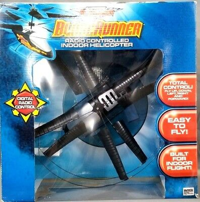 BladeRunner Series Digital Radio Controlled Indoor Helicopter Drone VINTAGE