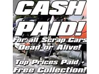 ♻ scrap cars wanted best price payed ♻