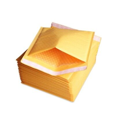 250 0 6x10 Kraft Bubble Mailers Shipping Padded Envelopes Self-seal Bubbles