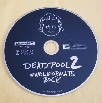 DEADPOOL 2 THEATRICAL CUT 4K DISC ONLY