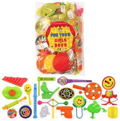 100 Pinata Toys Party Bag Fillers Favours Fete Lucky Dip Prizes For Boys & Girls (Pinatas For Boys)