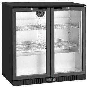 Brand New 208L 2 Door Black Or Silver Bar Display Fridge Campbellfield Hume Area Preview