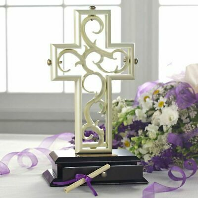 The Unity Cross Pearlescent Wedding Centerpiece Christian Limited - Bridal Cross