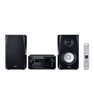 Yamaha hifi micro system with Airplay, music streaming & app control