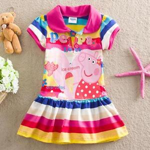 NEW PEPPA PIG SUMMER DRESS, short sleeves DRESSES St. John's Newfoundland image 1
