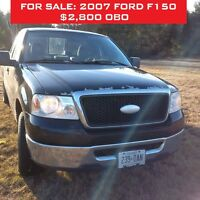 2007 Ford F-150 Coupe (2 door) - 2800 OBO!