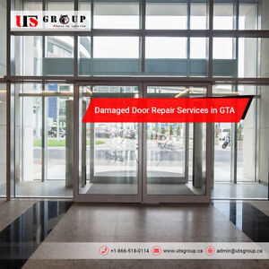 Door Repair services - Fix damage caused by Toronto storm