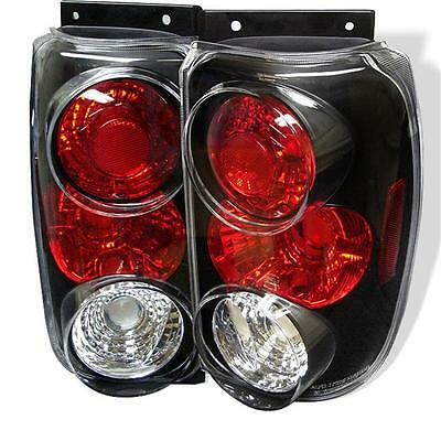 Tail Lights Ford Explorer 1995-1997 Altezza - Black 1995 95 Ford Explorer Tail