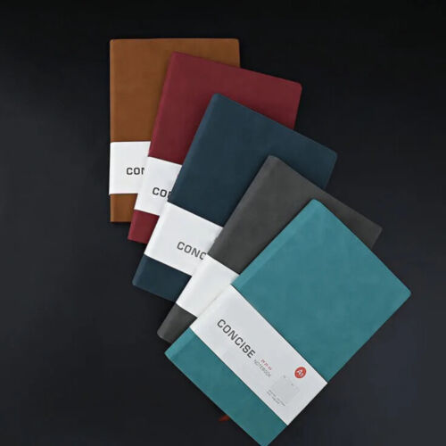Smooth Touch Travel Journal Notebook - 3 Sizes